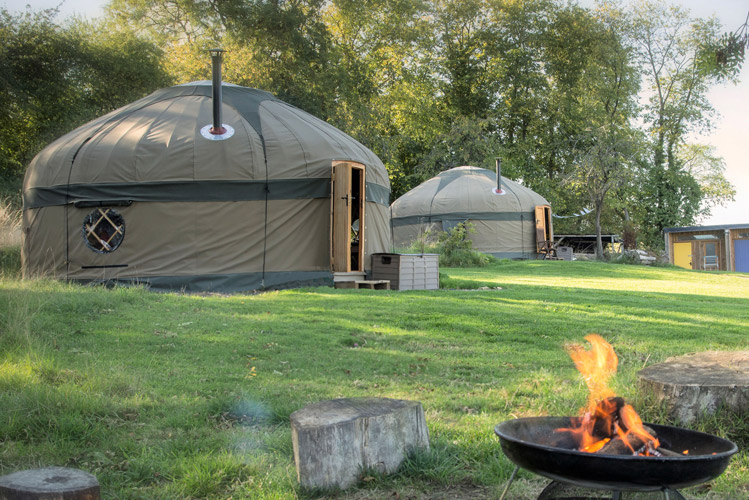 Campden Yurts, Cotswolds